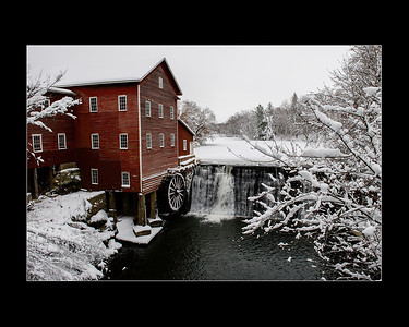 Dell's Mill in Winter