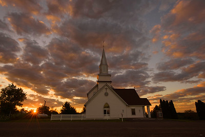 Wilson Lutheran Church Sunrise