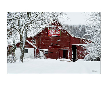 Coca Cola Red Barn