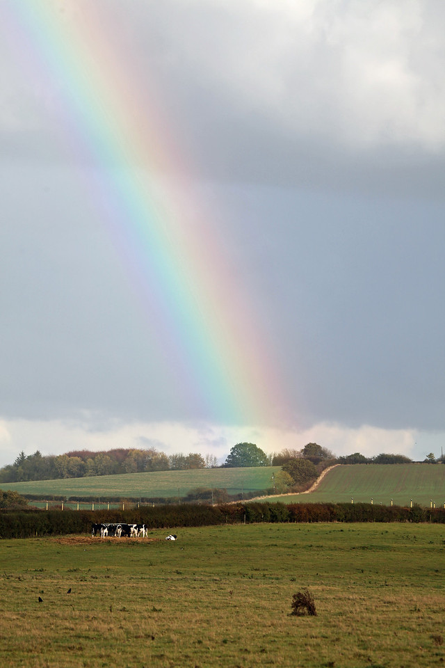Rainbow at Brize Norton - Oxfordshire, UK