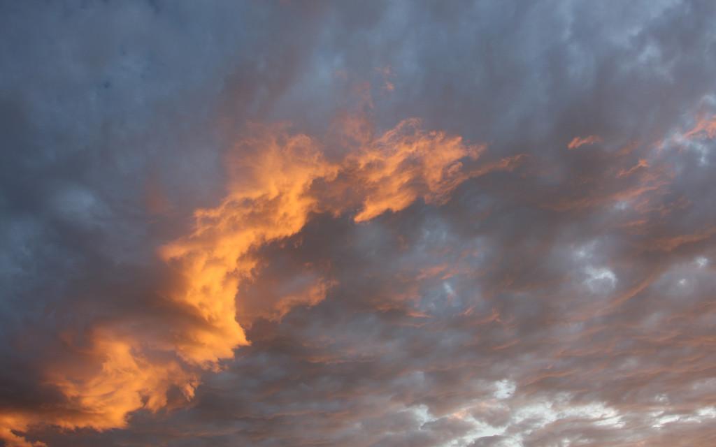 Sunset over Avimore, Scotland 3