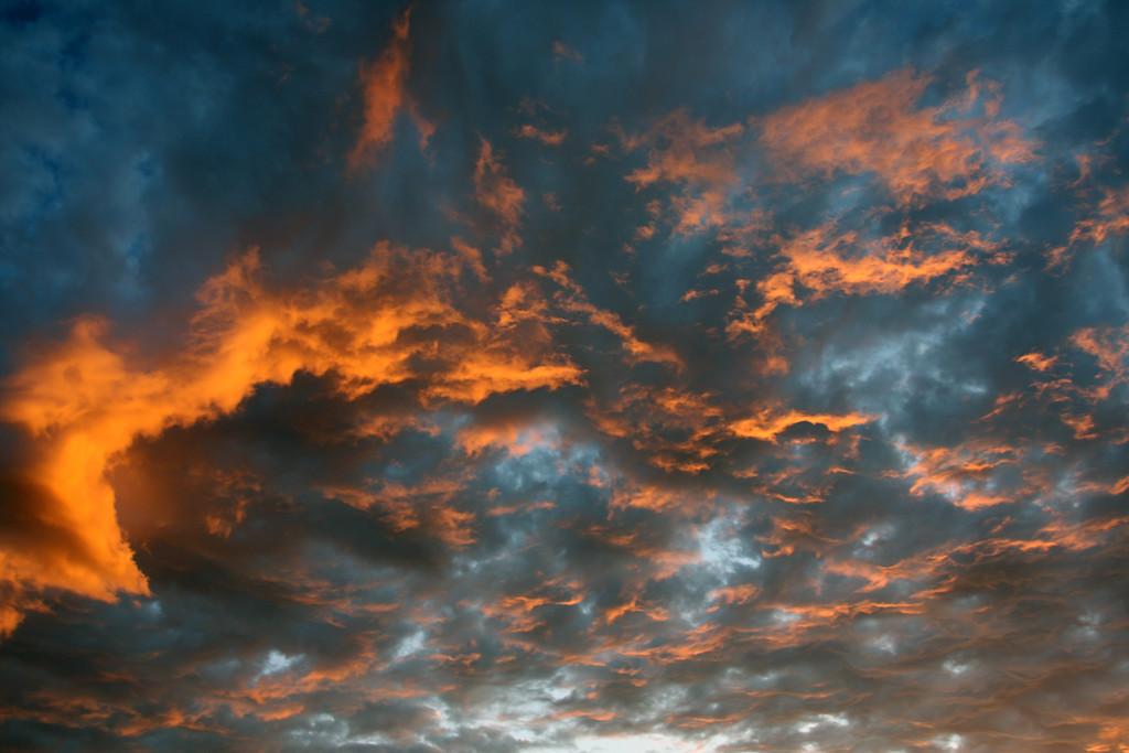 Sunset over Avimore, Scotland2