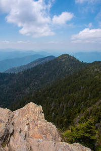Atop Mt. LeConte