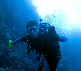 Diving disabled in the Red Sea