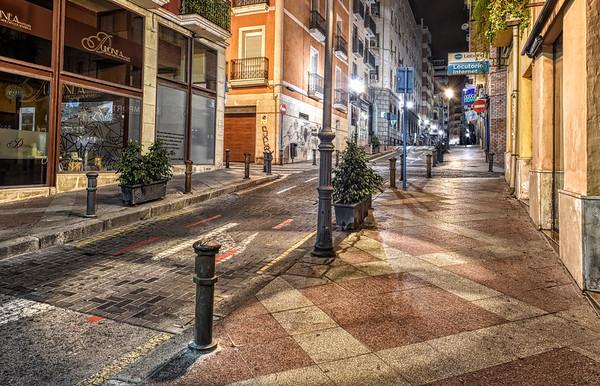 Along Calle Navas
