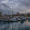 Alicante Marina Evening