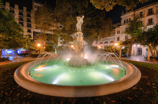 Fountain of Plaza Miró