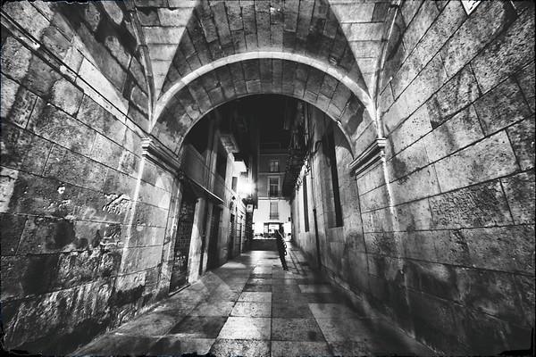 Along the Dark Alley