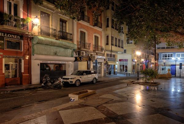 Street of Plaza Miró