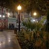 Corner of Plaza Miró