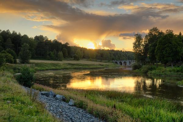 Arboga Sunset Scenery I