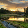 Arboga Sunset Scenery I