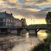 Pastoral Bridge Sunset