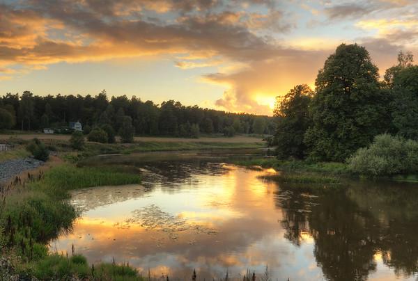 Arboga Sunset Scenery III