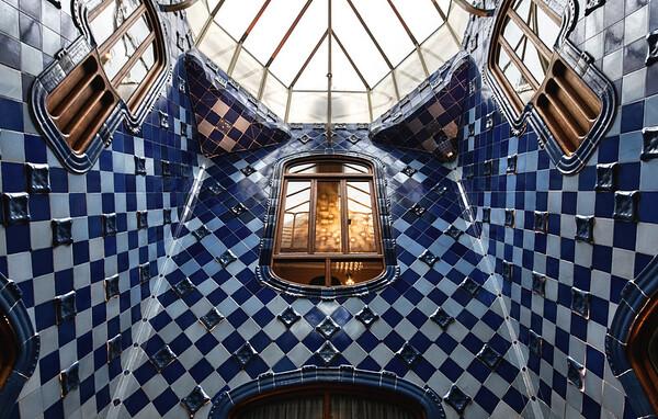 The Blue Atrium