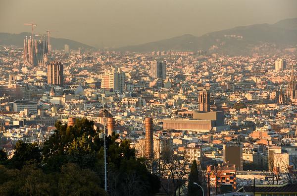 A Montjuïc Sunset