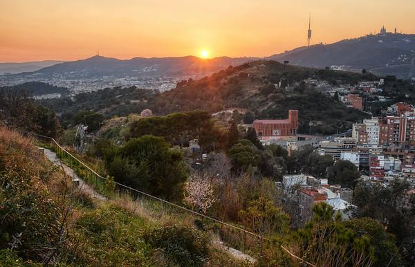 Rovira Hill Sunset