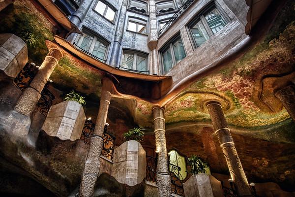 Atrium of Casa Milá