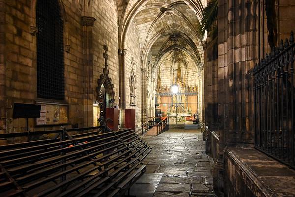 Atrium Cathedral Night