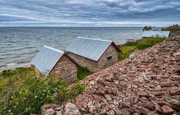 Coastal Boat Huts