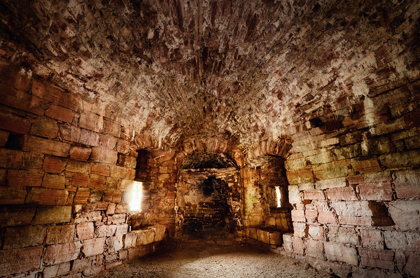 Absidial Castle Room