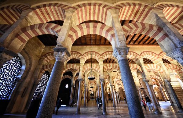 The Mezquita Colonades