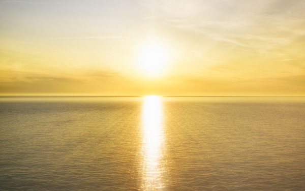 Ligurian Sea Sunset