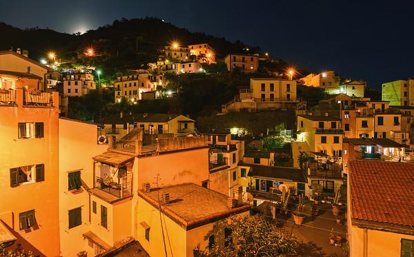Night In Riomaggiore