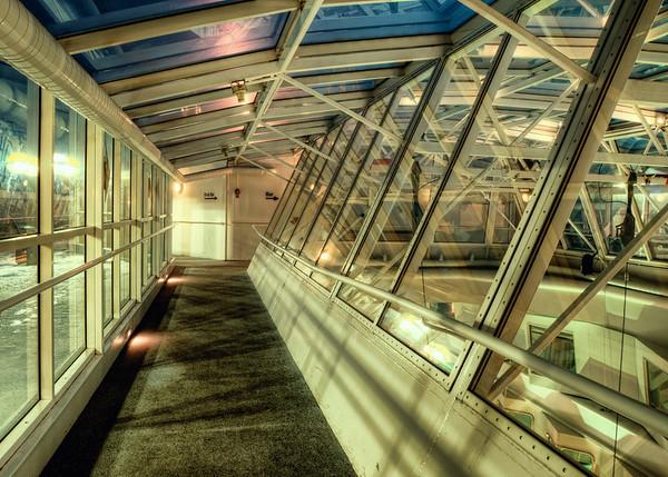 Ship Deck Corridor