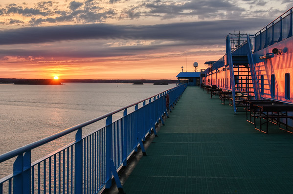 A Cruising Sunset