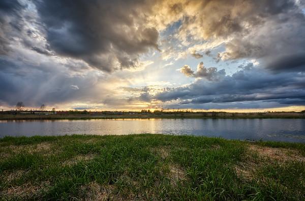 Ekeby Wetlands Evening