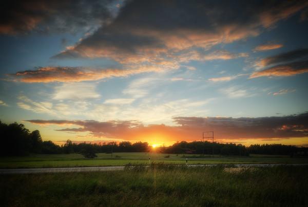 Under Sunset Skies