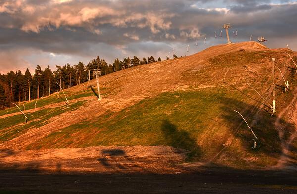 Golden Ski Slope