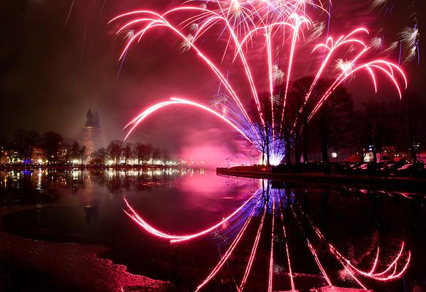 The Spider Fireworks