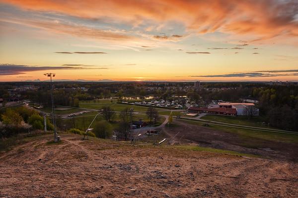 Vilsta Slope Sunset