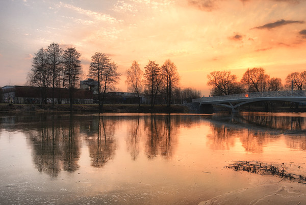 Early Golden Sunset