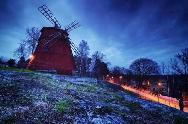 Windmill Mountain Dusk