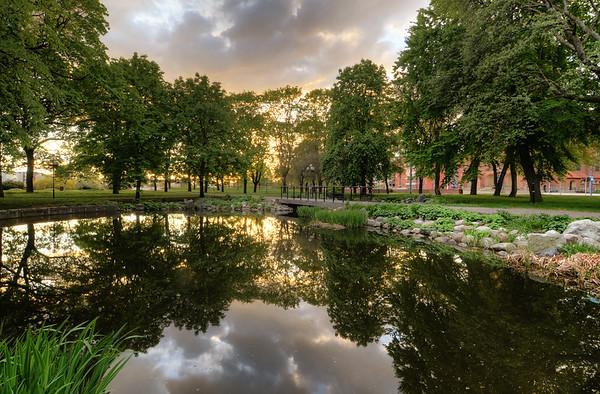 Park Pond Sunset