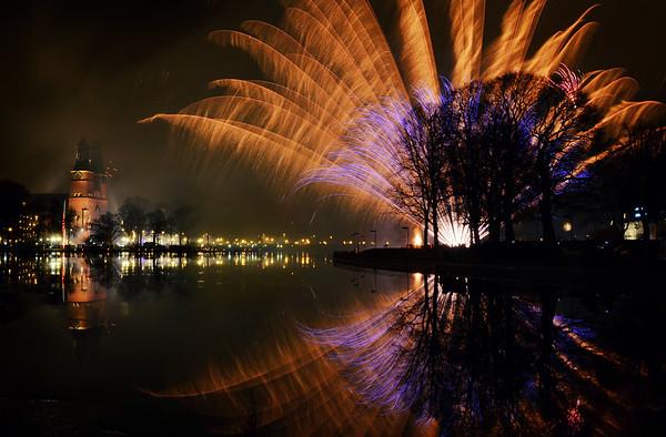 A Fan of Fireworks