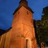 A Church at Dusk