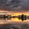 Sunset Clouds Invade