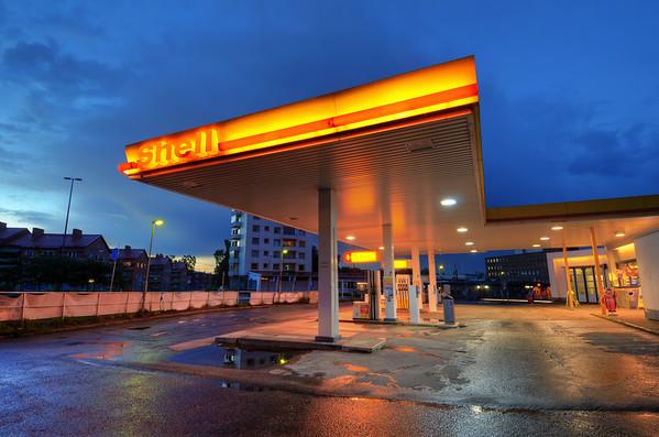 Shell After Rainfall I