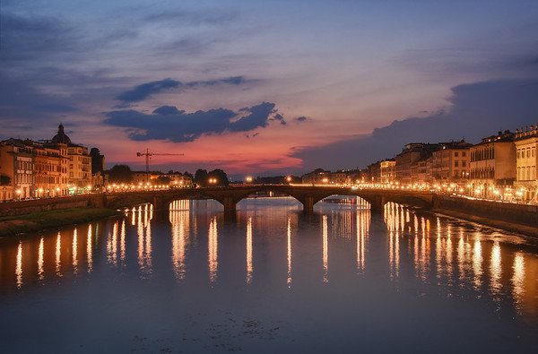 Carraia Bridge Sunset