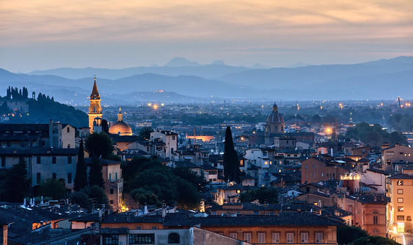 A Florence Sunset
