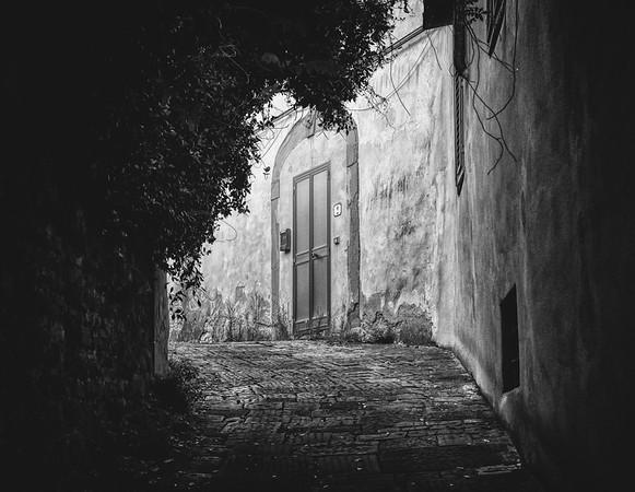 An Uphill Door