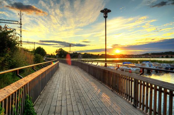 Gnesta Boardwalk Sunset