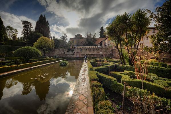 Walking Alhambra Path