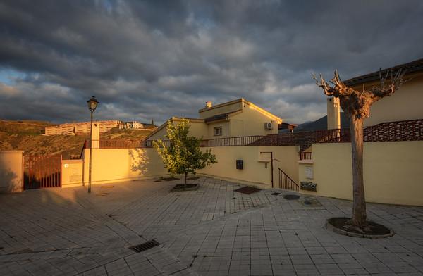 Spanish Sunset Courtyard II