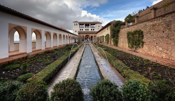 Generalife Palace Drops