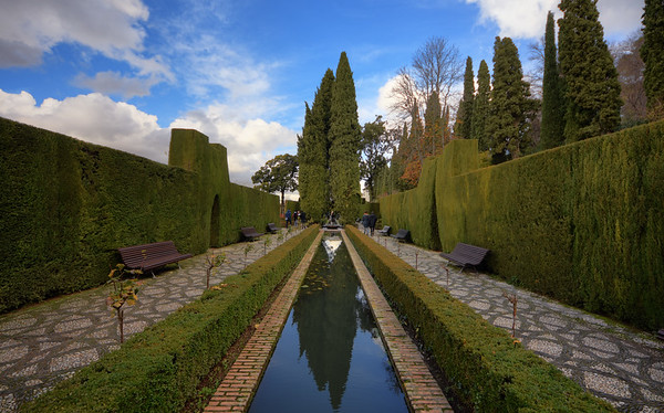 Hedges of Alhambra